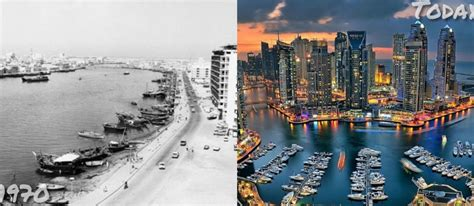Evolution of The Beautiful City Of Dubai in Pictures